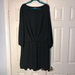 Vince Camuto Plus size Black Dress